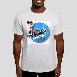 Super Plug Speed Shop Ash Grey T-Shirt