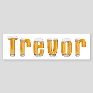Trevor Beer Bumper Sticker