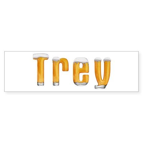 Trey Beer Bumper Sticker