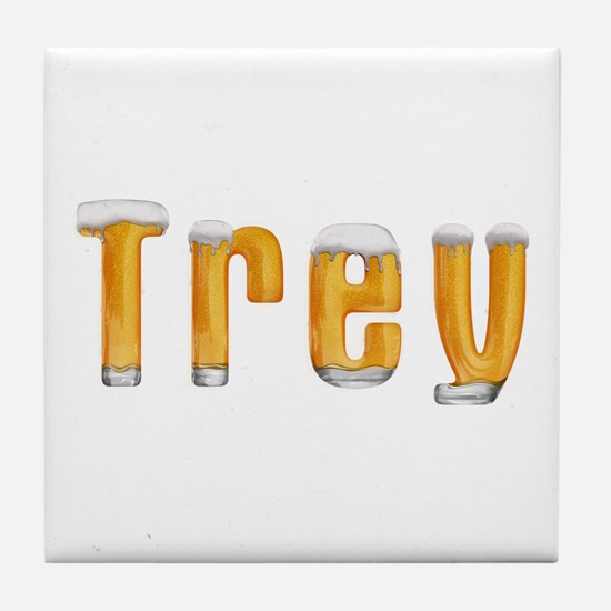 Trey Beer Tile Coaster