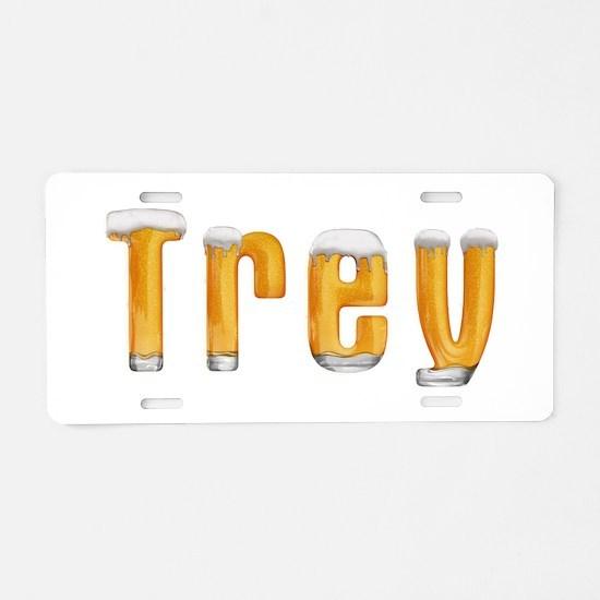 Trey Beer Aluminum License Plate