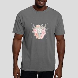 Buffalo Skull Mens Comfort Colors Shirt