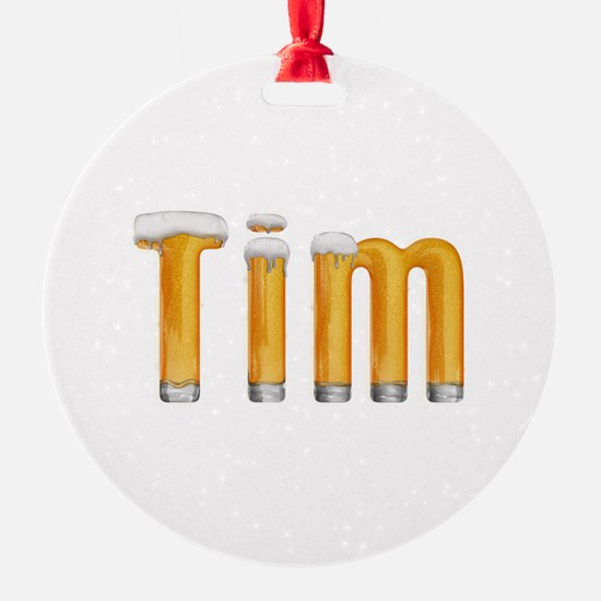 Tim Beer Ornament