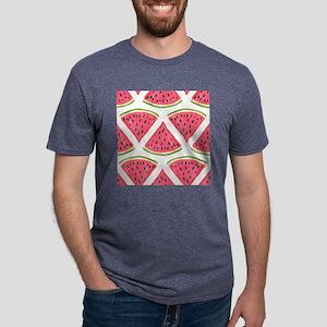 Watermelon Mens Tri-blend T-Shirt
