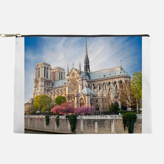 Notre Dame Cathedral Makeup Pouch