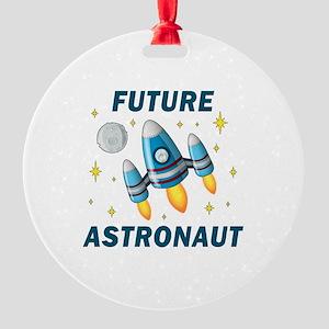 Future Astronaut (Boy) - Round Ornament