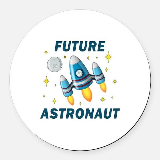 Future Astronaut (Boy) - Round Car Magnet
