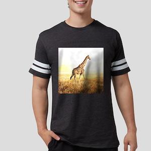 Giraffe Mens Football Shirt