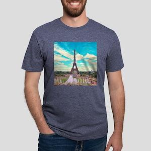 Paris Mens Tri-blend T-Shirt