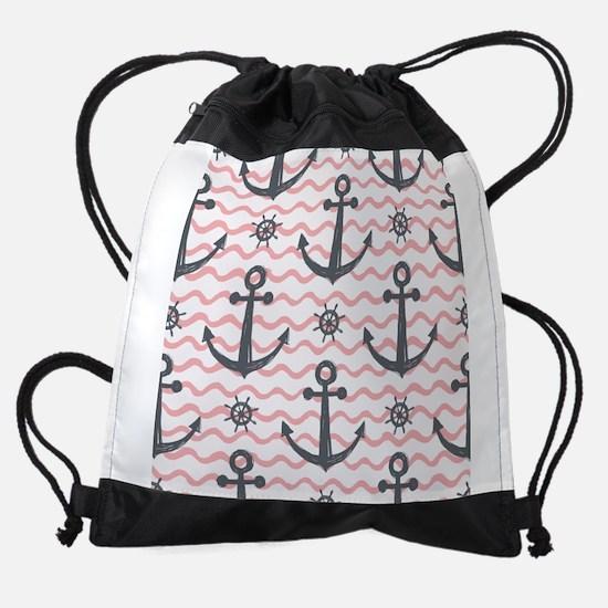 Anchors Drawstring Bag