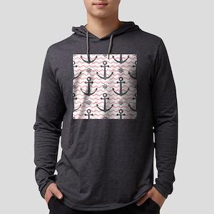 Anchors Mens Hooded Shirt