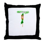Happy St. Pats! Throw Pillow