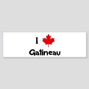 I Love Gatineau Bumper Sticker
