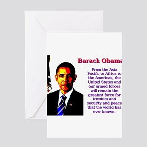 From The Asia Pacific To Africa - Barack Obama Gre