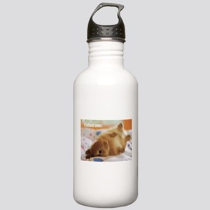 Cute bunny fell over Stainless Water Bottle 1.0L
