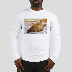 Cute bunny fell over Long Sleeve T-Shirt