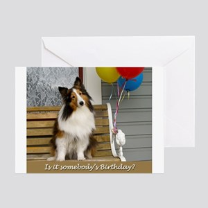 Is it somebodys birthday? Greeting Card