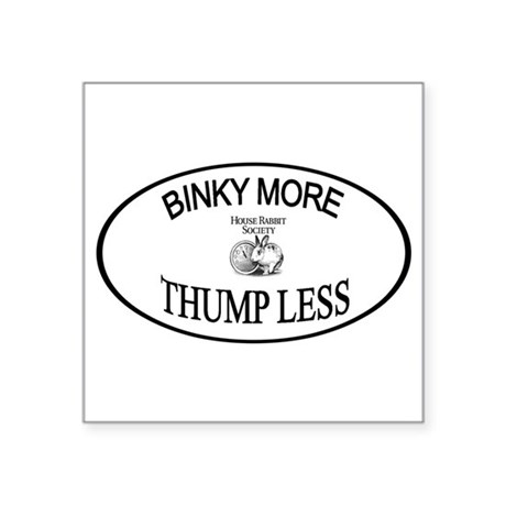 Binky More Thump Les Sticker