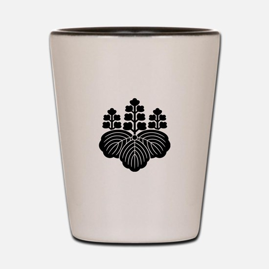 Paulownia with 5-7 blooms Shot Glass