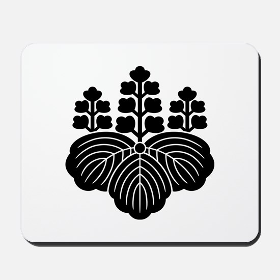 Paulownia with 5-7 blooms Mousepad