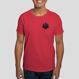 Paulownia with 5-7 blooms Dark T-Shirt