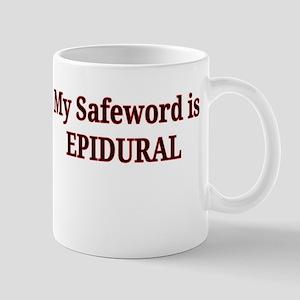 Maternity Safeword Mug