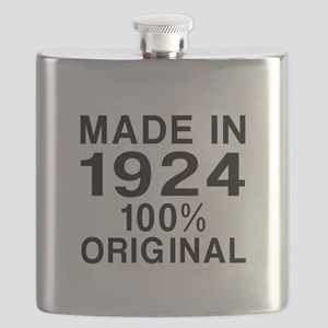 Made In 1924 Flask