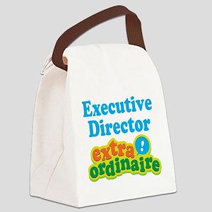 Executive Director Extraordinaire Canvas Lunch Bag