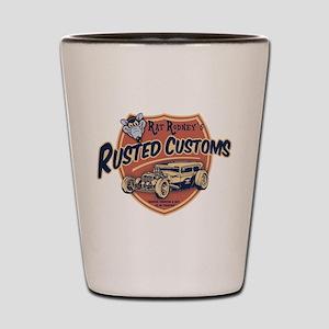 Rusted Customs II Shot Glass