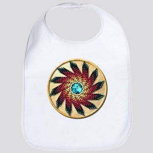 Native American Rosette 17 Bib