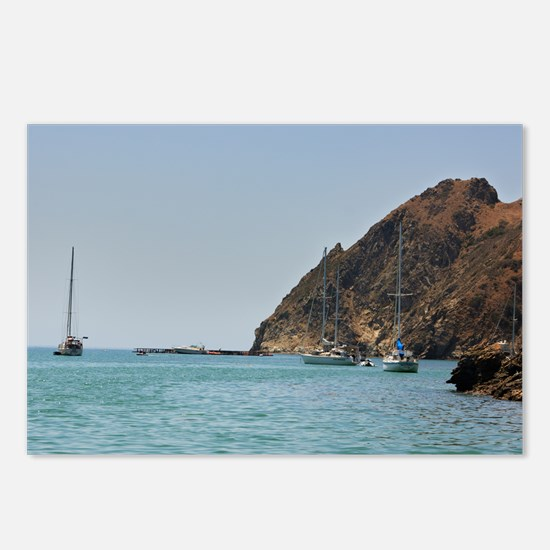 Catalina Harbor Postcards (Package of 8)
