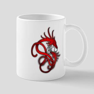 Norse Dragon - Red Mug