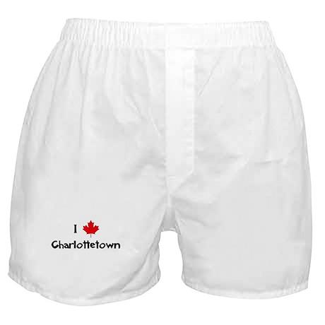 I Love Charlottetown Boxer Shorts