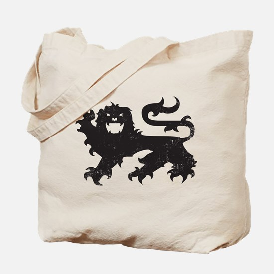 Heraldry Lion Tote Bag