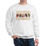 Patriotic Dogs WW1 Pit Bull Terrier Sweatshirt
