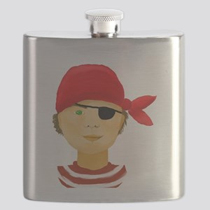 Little Pirate Boy Flask