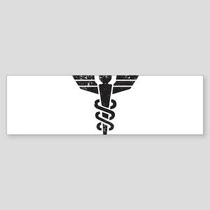 Caduceus Sticker (Bumper)