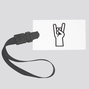 Heavy Metal Large Luggage Tag