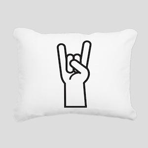 Heavy Metal Rectangular Canvas Pillow