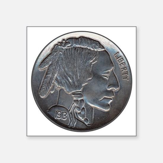 The Indian Head Nickel Sticker