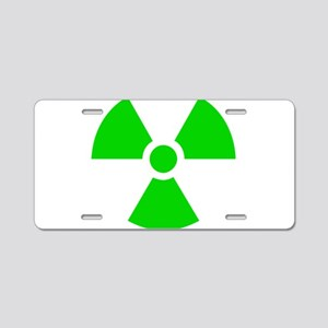 Nuclear Aluminum License Plate