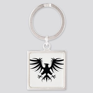 Phoenix Square Keychain