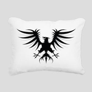 Phoenix Rectangular Canvas Pillow
