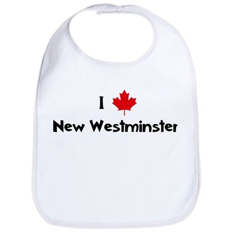 I Love New Westminster Bib