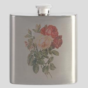 Three Roses Flask