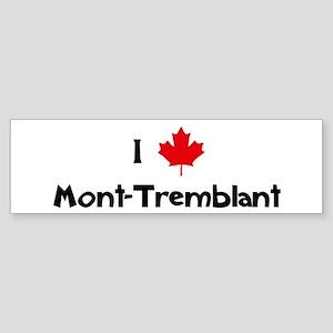 I Love Mont-Tremblant Bumper Sticker
