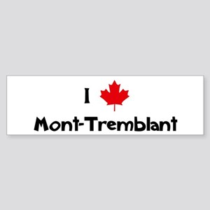 I Love Mont-Tremblant Bumper Sticker