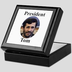 President Tom of Iran Keepsake Box