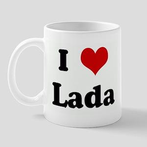 I Love Lada Mug