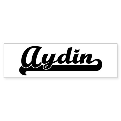 Black jersey: Aydin Bumper Sticker